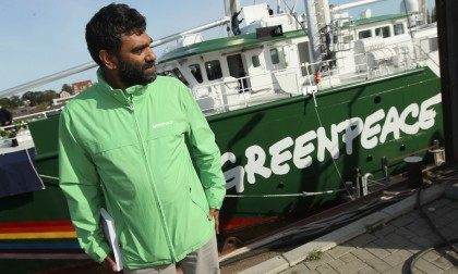 Greenpeace Christen Rainbow Warrior III
