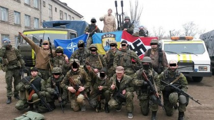Mr. Turchinov, the Imperial Space Commando, the Waffen-SS and the Azov regime