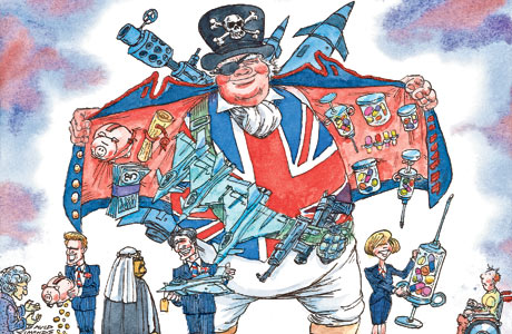 Dave Simonds cartoon piratical britain