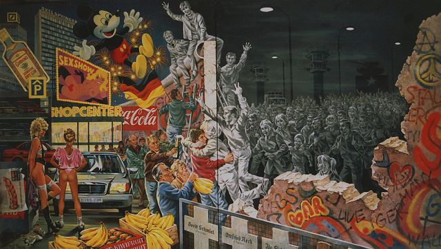The-Fall-of-the-Berlin-Wall-by-Herbert-Smagon-Germany-1989